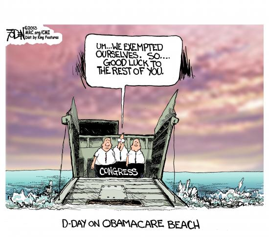 Image result for D-Day for obamacare