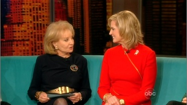 Barbara Walters, ABC Host; & Ann Romney, Wife of Mitt Romney | Media Research Center; MRC.org