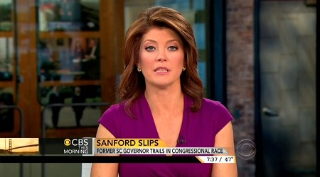 Norah O'Donnell, CBS News Anchor; Screen Cap From 23 April 2013 Edition of CBS This Morning | MRC.org